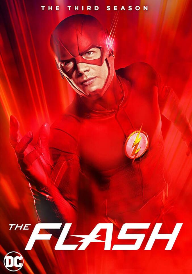 Flash Season 3 DVD Zavvi