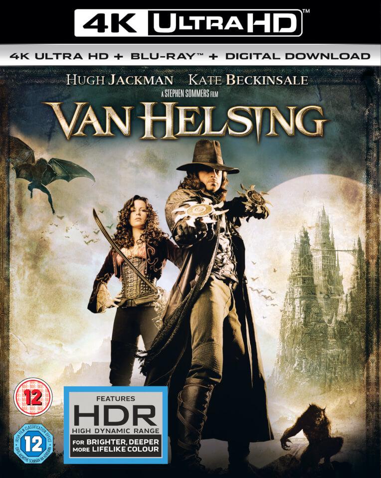 Van Helsing 4K Ultra HD Blu Ray Zavvi