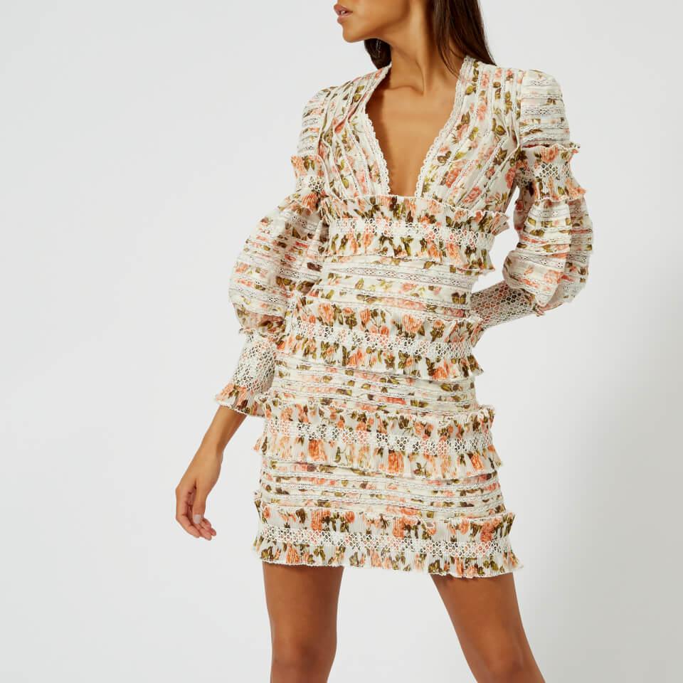 Zimmermann Sunny Smocked Mini Dress