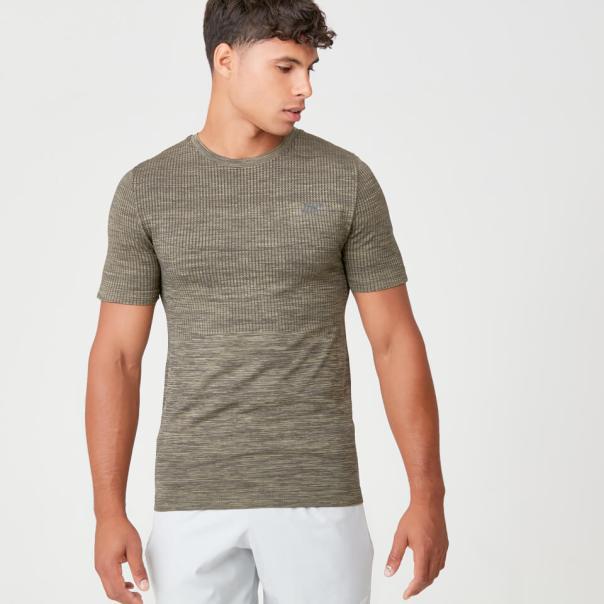 Camiseta sin costuras Sculpt - XS - Light Olive