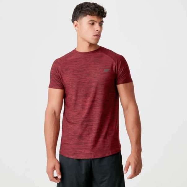 Camiseta Dry-Tech Infinity - M - Red Marl