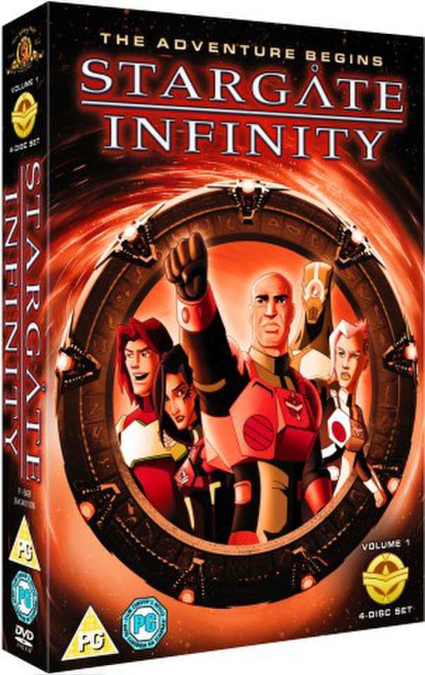 Stargate Infinity DVD Zavvi