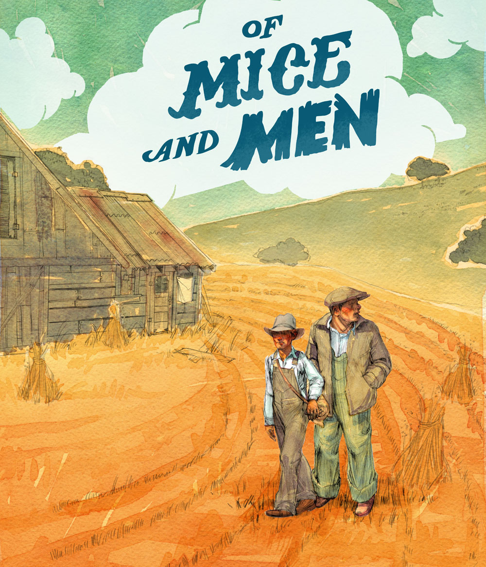 Image result for of mice and men illustrations