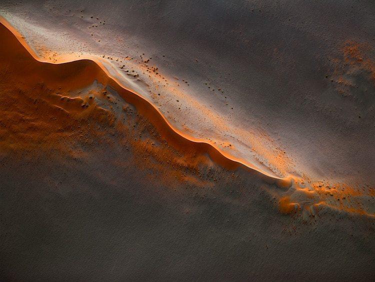 Потрясающие воздушные фото пустыни в Намибии