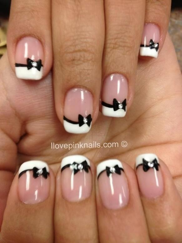 Amazing French Manicure Nail Art Designs