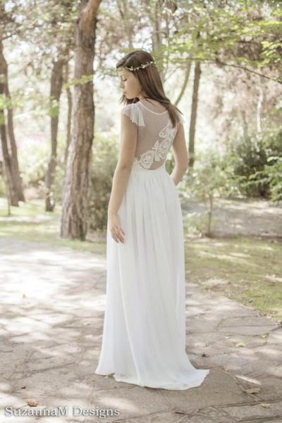 Dress - Beautiful White Long Gown For Wedding #2261705 ...