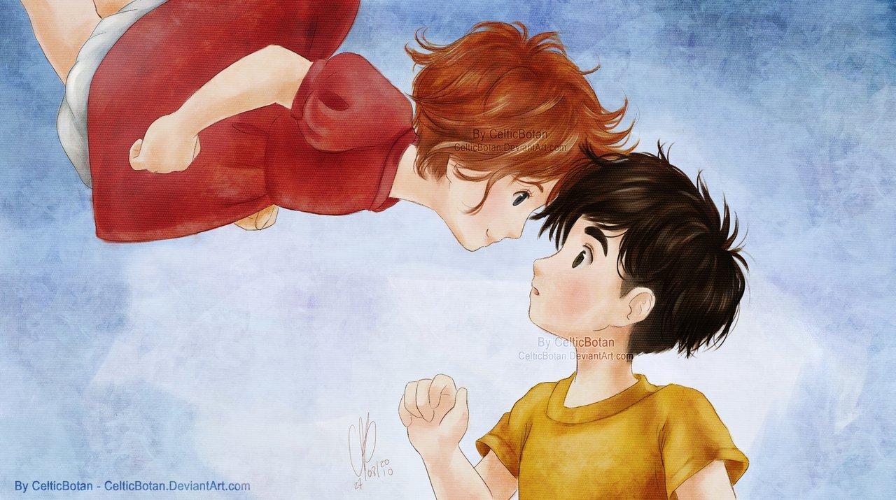 Tags: Gake no Ue no Ponyo, Studio Ghibli