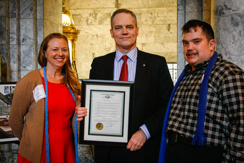 Governor Inslee issued a proclamation about supported employment