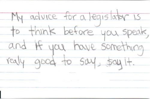 Advice Card 7