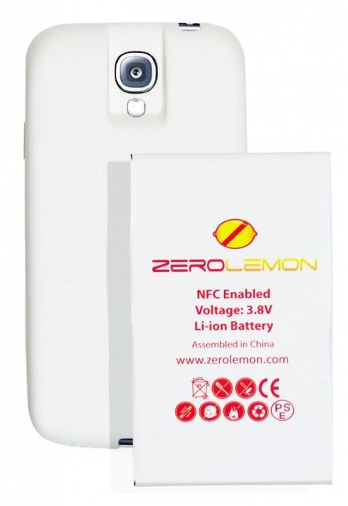 zero lemon 7500mah extended battery galaxy