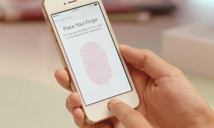 apple iphone 5s touch id fingerprint scanner
