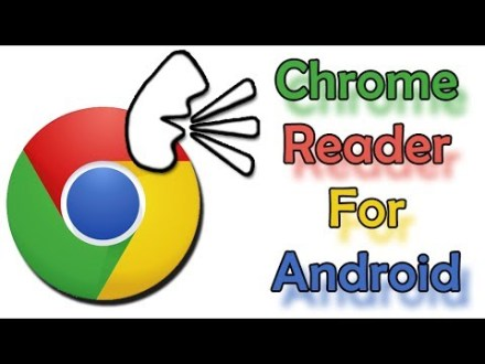 Make your android device read the content in webpages for you
