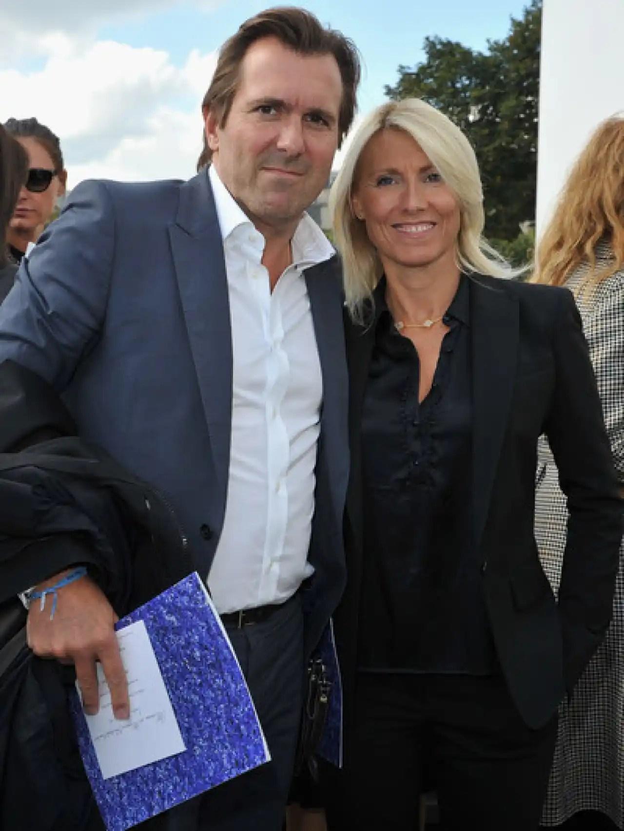 Marie y su tercer marido, el publicista Christopher Lambert