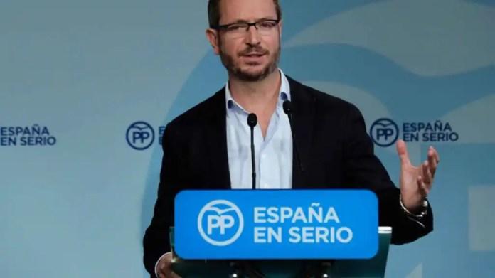 El vicesecretario de Organización del PP, Javier Maroto.