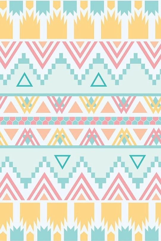 iphone, love, lovely, sweet, tribal, wallpaper, wallpapers, Pastel