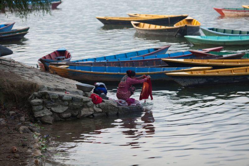Покхара, Непал, озеро Фева