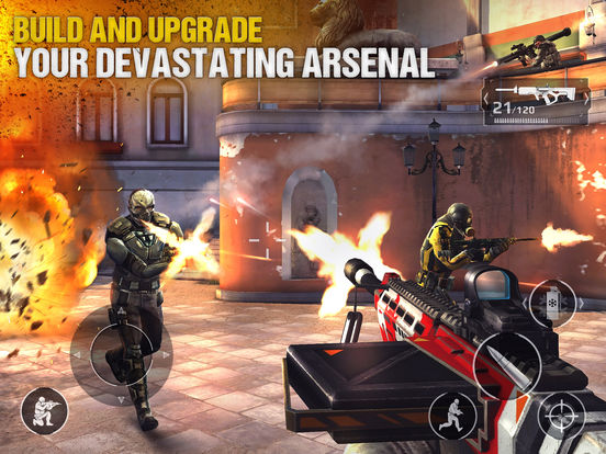 Modern Combat 5 : The Multiplayer eSports Shooter Screenshot