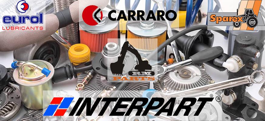 Резервни части за трактори и друга техника от RM Partss