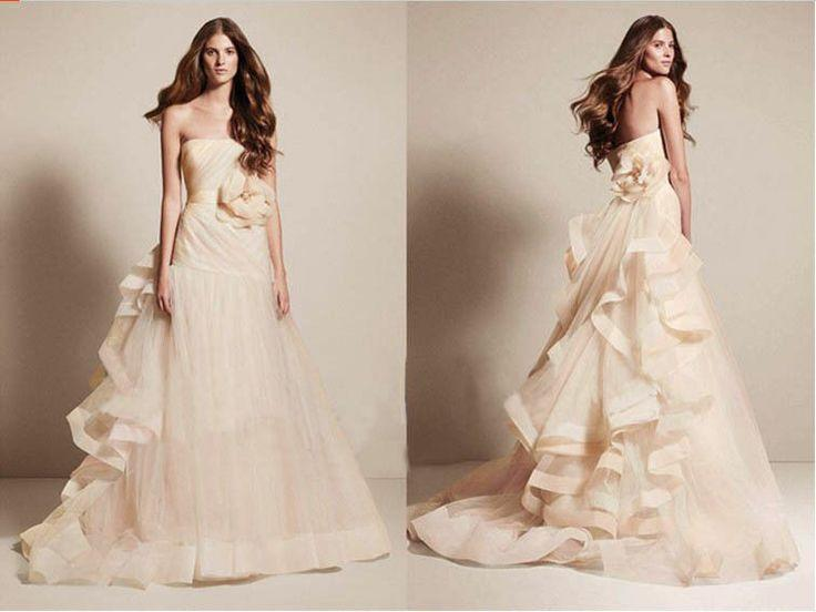 2014 New A-line Wedding Dress Bridal Gown Size 4 6 8 10 12