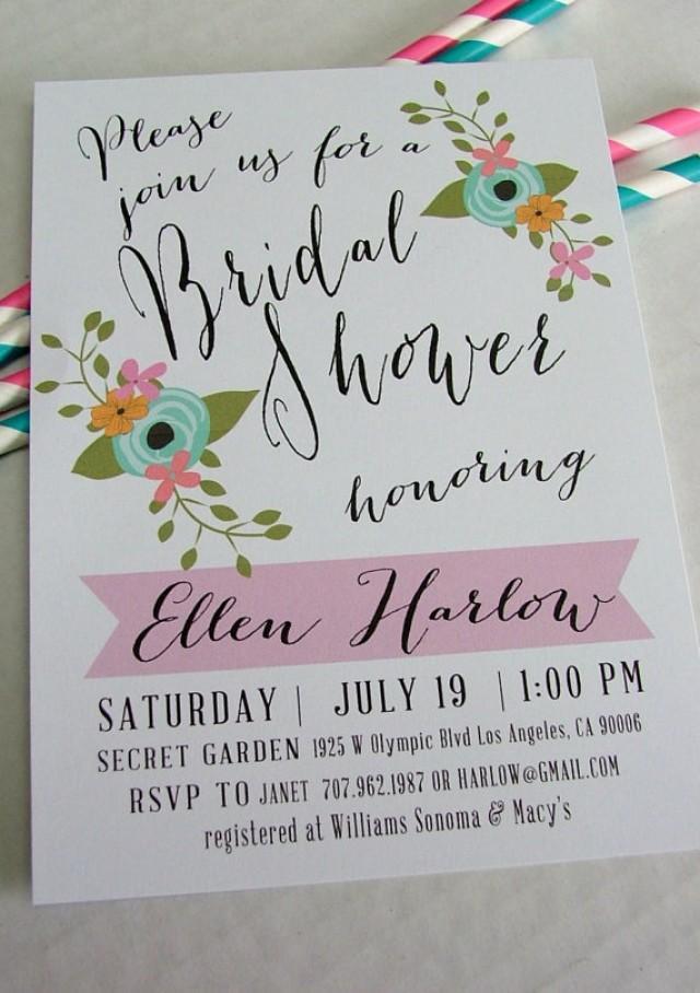 Bridal Shower Invitation Stationery