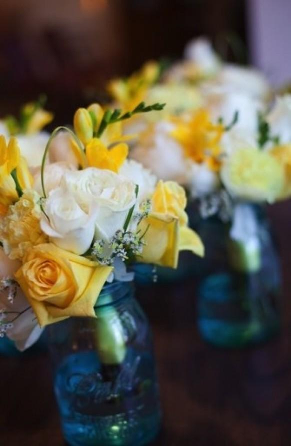 Yellow Wedding Sunny Lemon Yellow Wedding Decor 797081