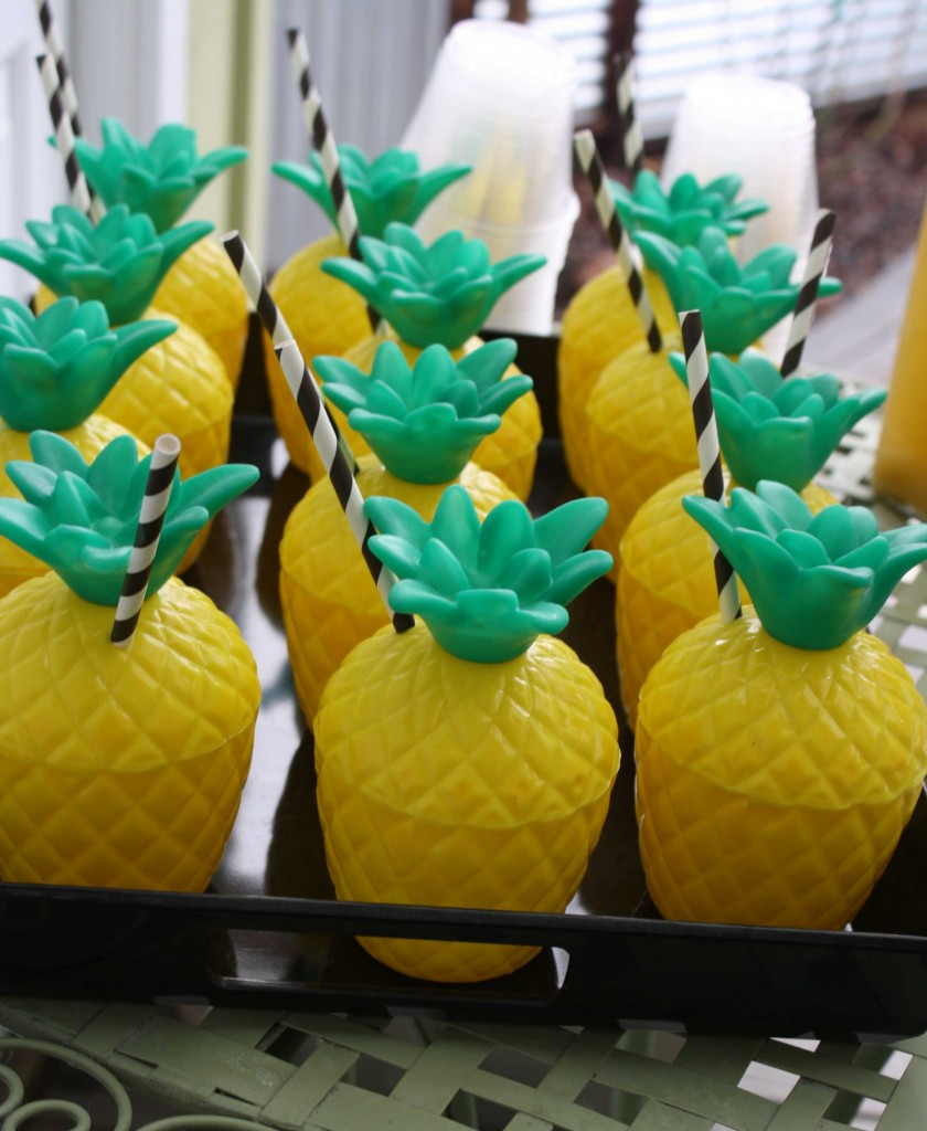 Jace S California Pineapple Birthday Party Cherjoy Blog