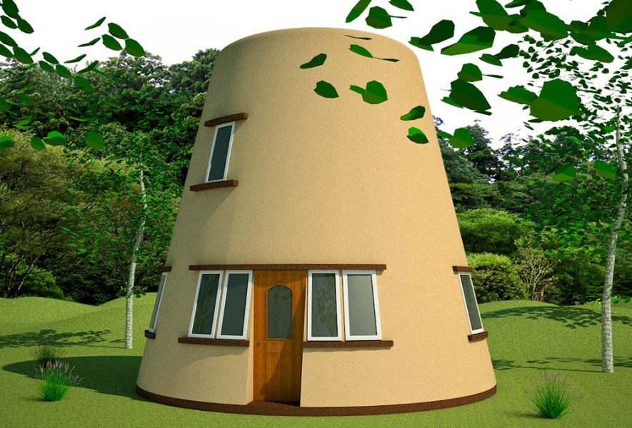 Earthbag Tower House   Natural Building Blog Earthbag Tower House  click to enlarge
