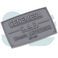 PLaca Cenemesa Caf