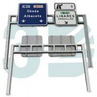 Pórtico Carretera Ferro3D