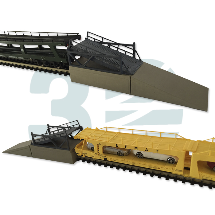 Plataformas autoexpreso Renfe Ferro3D
