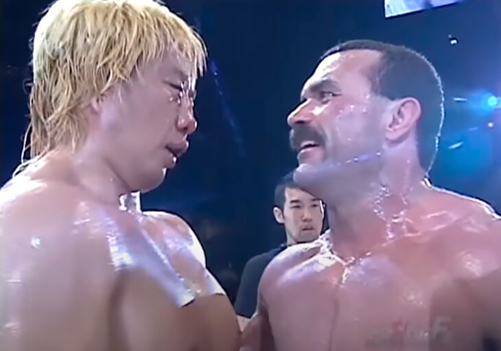 Madness by Don Fry and Yoshihiro Takayama struck 93 blows in 30 seconds.