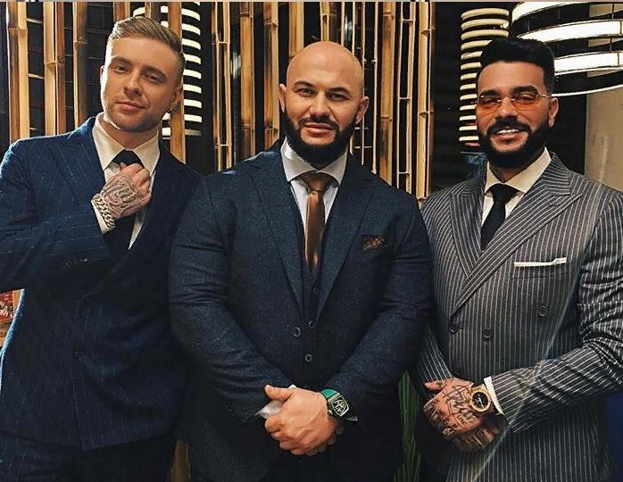 Timati with Dzhigan and Yegor Creed
