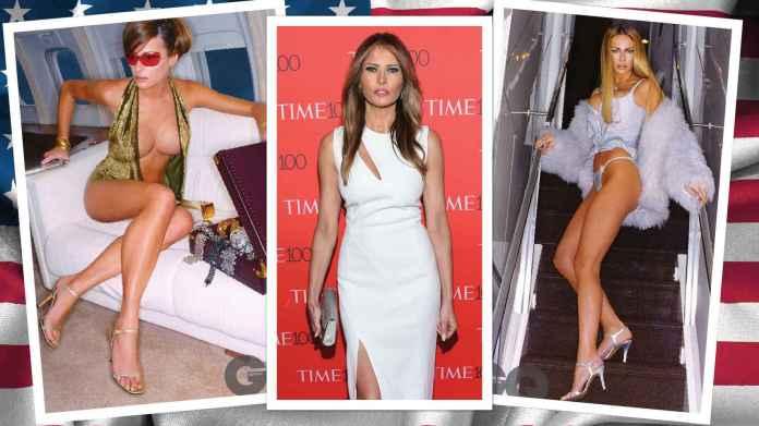 Resultado de imagen para Fotos de la modelo Melania Trump