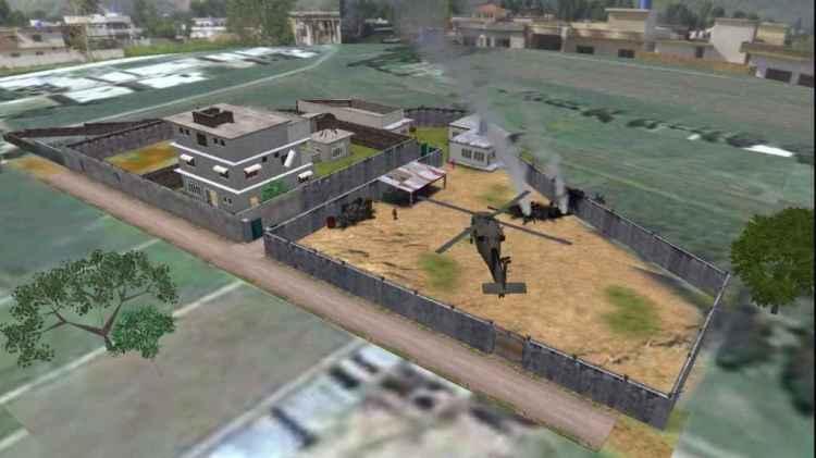Reproducción digital de la operación de EEUU en Abbottabad (Pakistán) para capturar a Osama bin Laden.