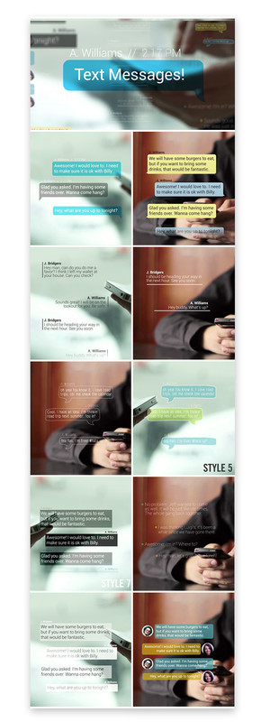 Text Messages - 5