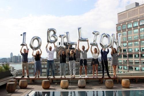 Foursquare celebrating 10 billion check-ins
