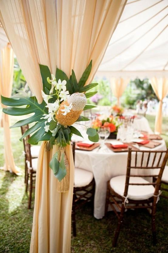 Hawaiian Wedding Decor On Decorations With 1000 Images About Beach Ideas Pinterest 21