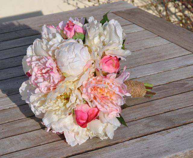 Silk Wedding Bouquet, Wedding Bouquet, Keepsake Bouquet