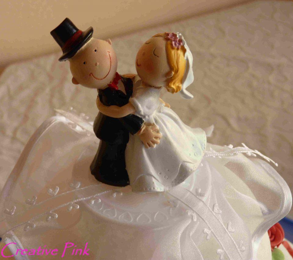 Brautpaar für Hochzeitstorte