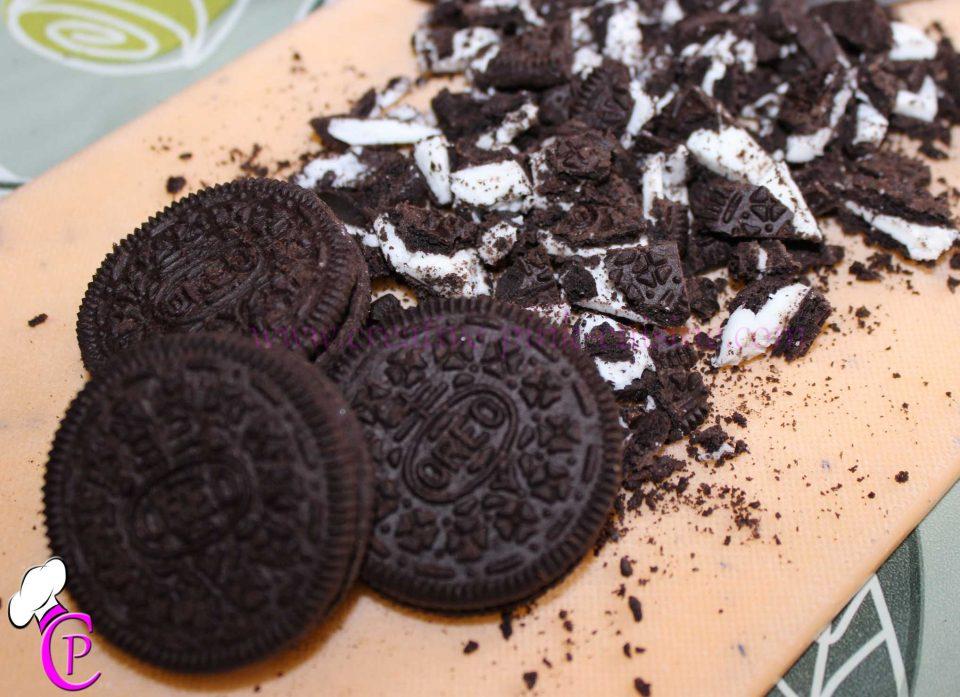 Oreo Kirsch Cupcakes - Oreo Kekse