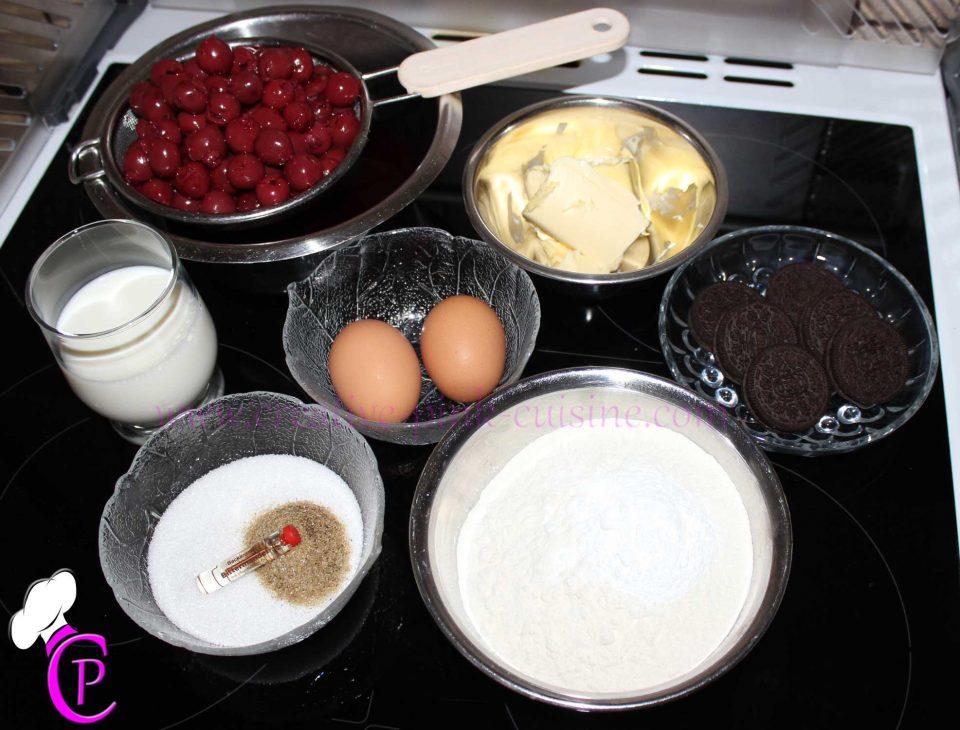 Oreo Kirsch Cupcakes Zutaten