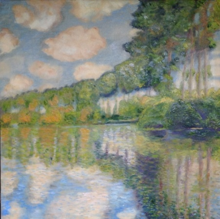 Poplars on the Epte (after Monet)