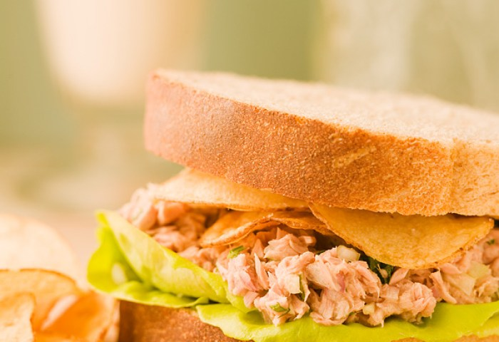 Tuna Fish Sandwich Chef Michael Smith