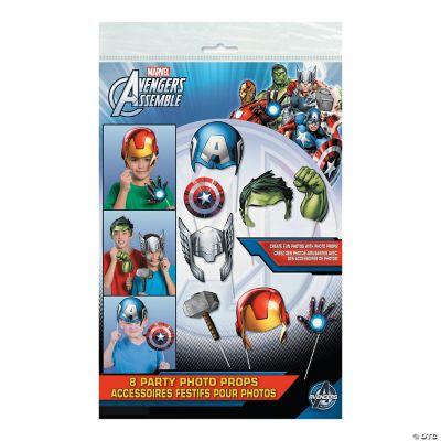 avengers assemble photo stick props oriental trading