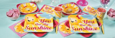 You Are My Sunshine Party Supplies Oriental Trading