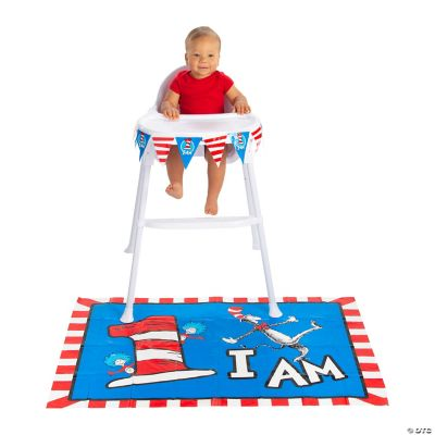 Dr Seuss 1st Birthday Party High Chair Decorating Kit Oriental Trading