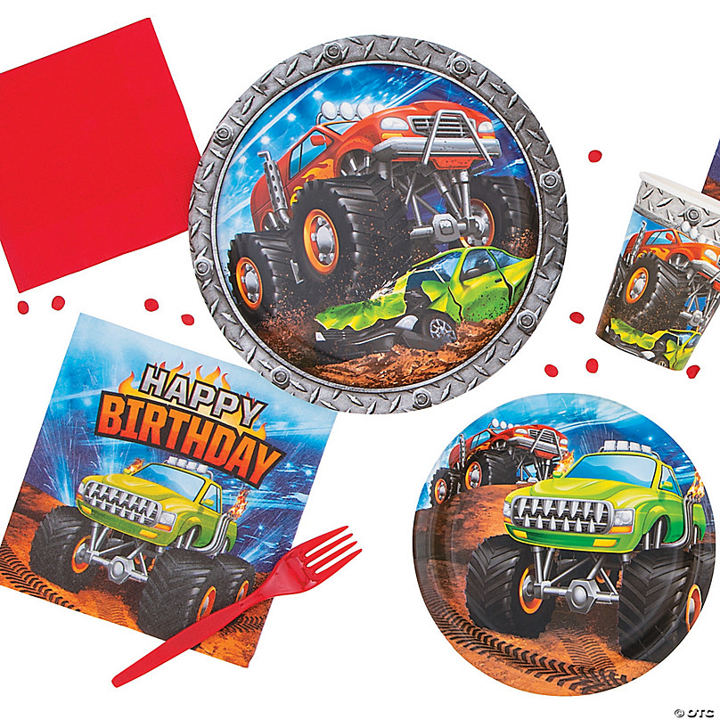 Monster Truck Party Oriental Trading Company