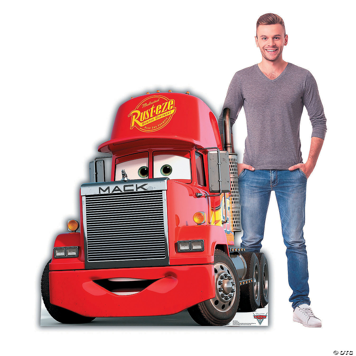 Disney S Cars 3 Mack Stand Up Oriental Trading
