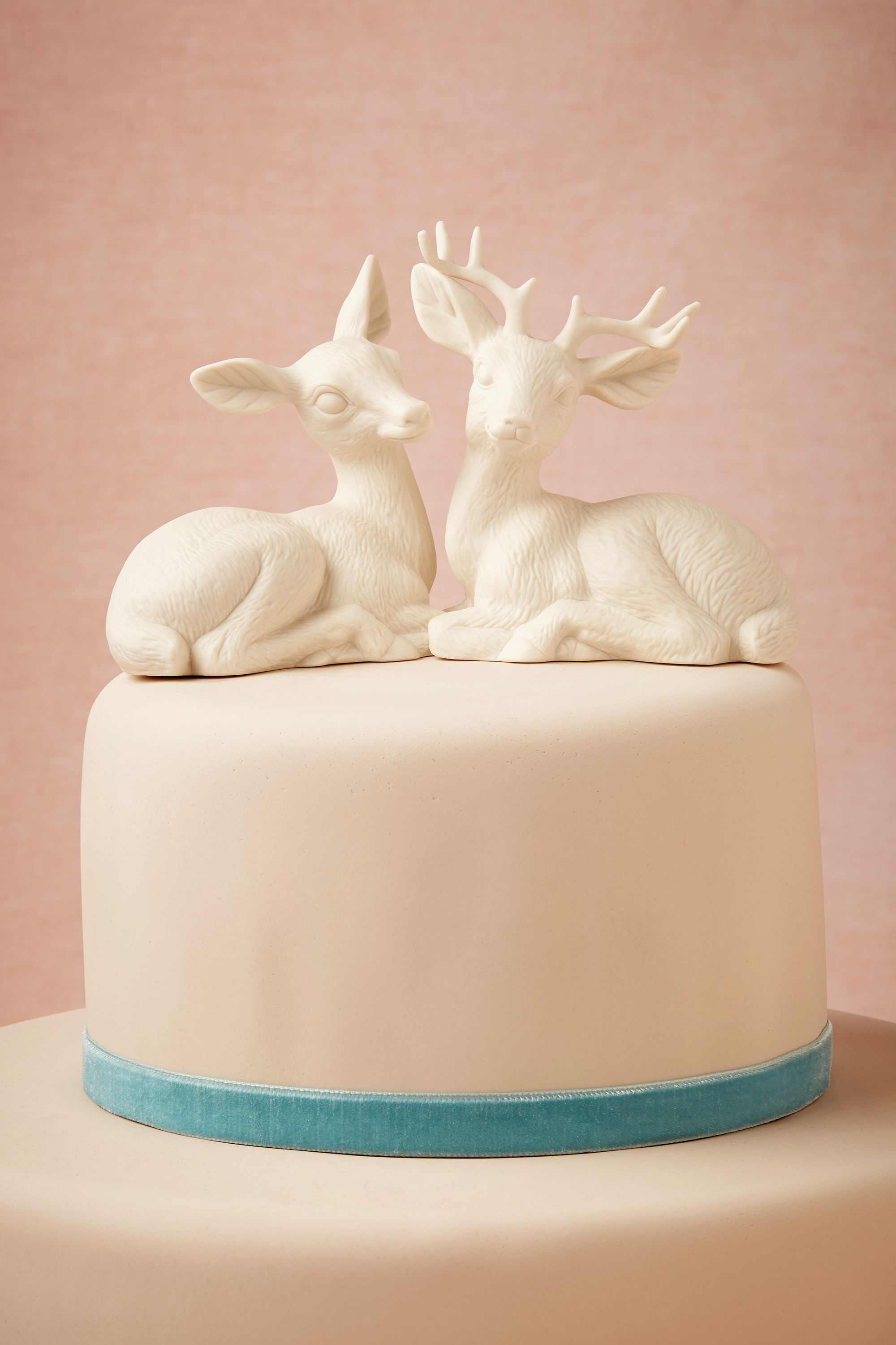 Oh Deer Cake Topper in New   BHLDN white Oh Deer Cake Topper   BHLDN