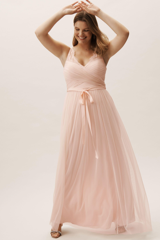 Fleur Dress Blush In Sale BHLDN